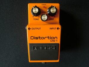 Distortion DS-1 pedaal van Boss