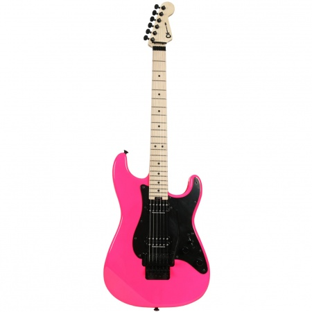 Charvel Pro Mod So Cal 2H FR Neon Pink