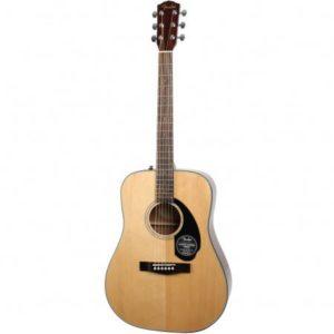 Fender Classic Design CD-60S Natural Gitaar leren spelen elektrisch of akoestisch