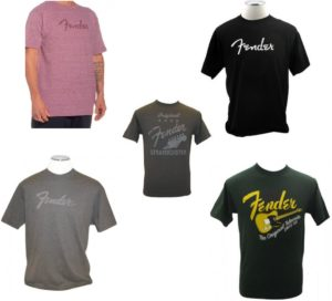 Gitaar cadeau Fender T-shirt