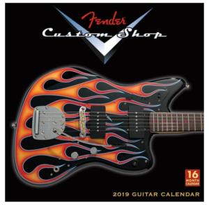 Gitaar cadeau Fender kalender 2019