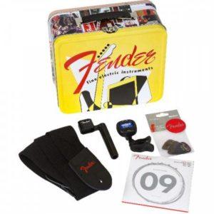 Gitaar cadeau Fender lunch box Gitaar accessoires cadeau