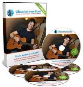 Gitaar cadeau Leer gitaar spelen in 22 lessen