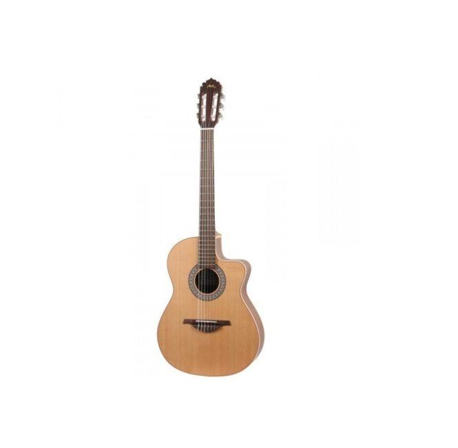 Klassieke gitaar met cutaway