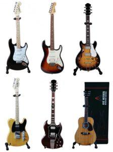 Miniatuur gitaren Gitaar cadeau