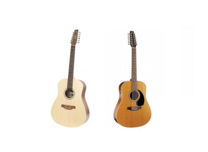 Seagull 12 snarige gitaar