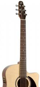Beste akoestische gitaar onder 1000 euro Seagull Coastline S6 Slim CW Spruce QI