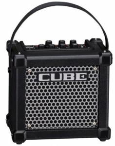Beste kleine gitaarversterker Draagbare mini gitaarversterker op batterijen Roland Micro Cube GX portable gitaarversterker