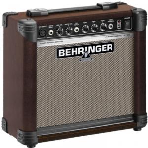 Beste akoestische gitaarversterker Behringer Ultracoustic AT108 Beste akoestische gitaarversterkers