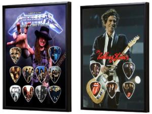 Gitaar cadeau Plectrum display Cadeau voor gitaarliefhebber