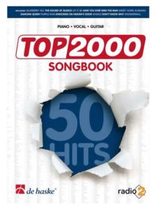 Gitaar cadeau Top 2000 songbook Cadeau voor gitaarliefhebber