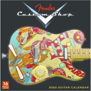 Gitaar cadeau Fender kalender 2020