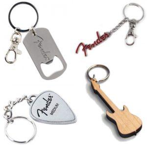 Gitaar cadeau gitaar sleutelhanger